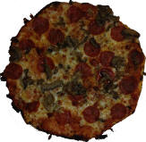 Fricanos Pepperoni and Mushroom Pizza Pie