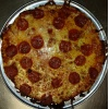 "Pepperoni Pizza. The Original 12"" Thin Crust Pizza"